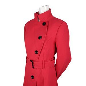 JACOB Fit and Flare Asymmetrical Peacoat - NWOT